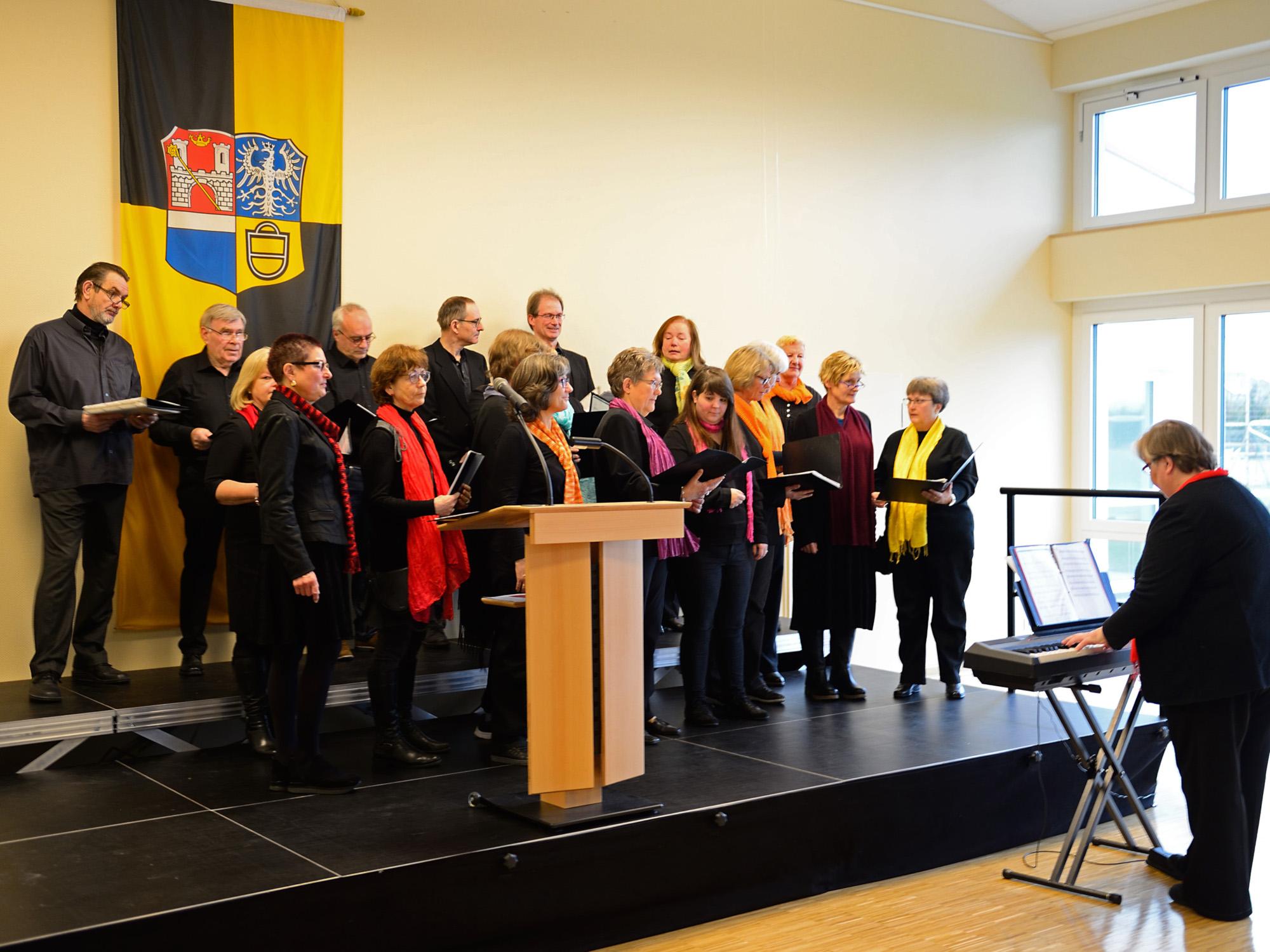 "Chor "" Unterwegs"" feiert 20jähriges Bestehen"