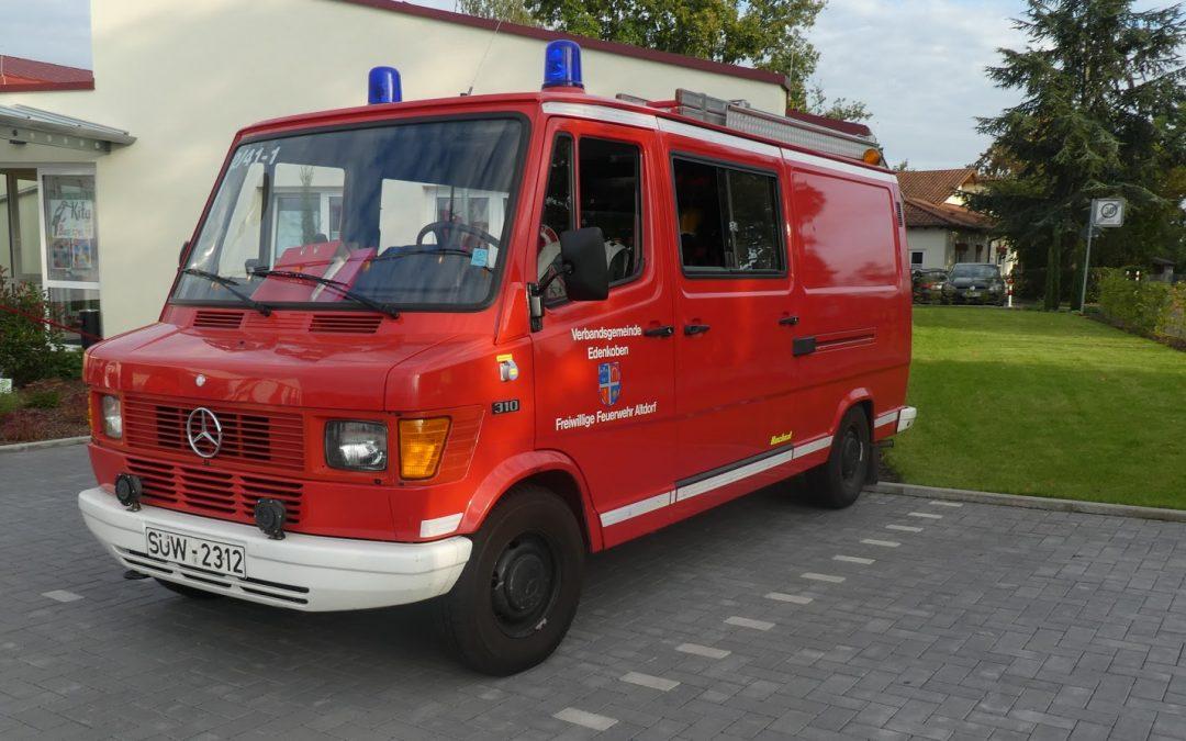 Förderverein der Freiwilligen Feuerwehr AltdorfMitgliederversammlung 2020